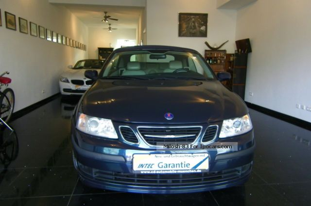 2004 Saab  9-3 1.8 t cabriolet Vector Cabriolet / Roadster Used vehicle photo
