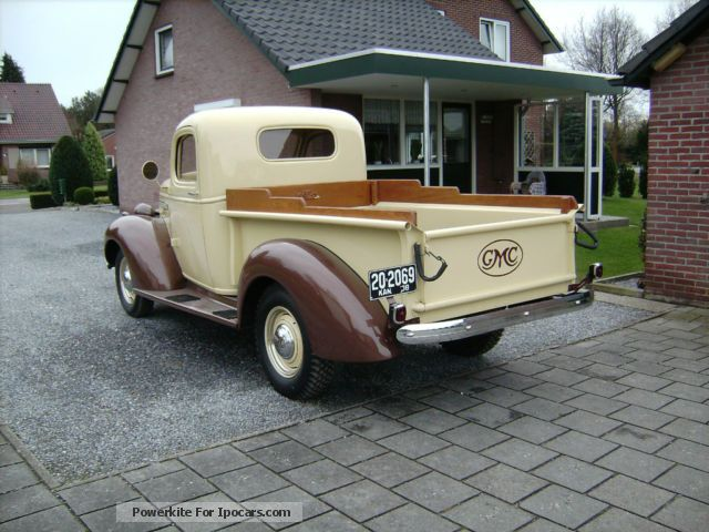 1938 gmc pick up oldtimer car photo and specs. Black Bedroom Furniture Sets. Home Design Ideas