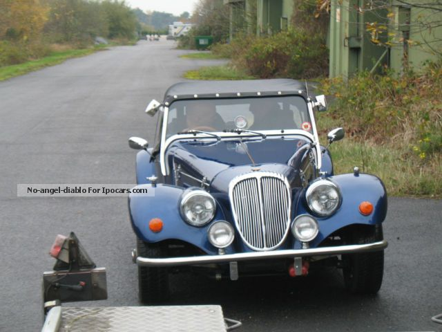 Morgan  Moss Convertible Roadster 2.0 LTriumph 6-cylinder 1970 Vintage, Classic and Old Cars photo