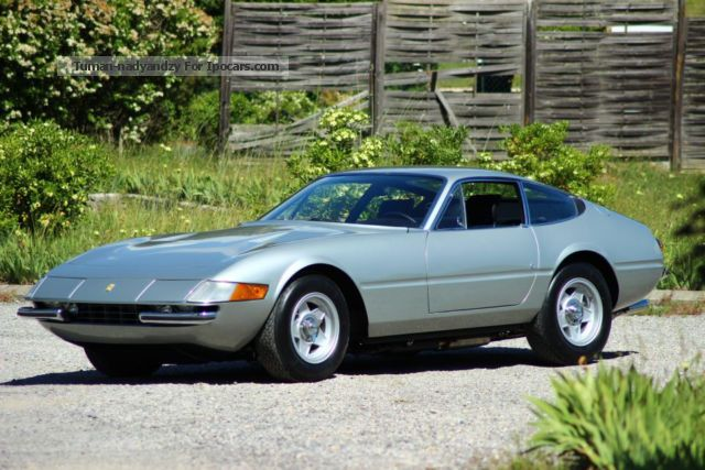 Ferrari  Daytona 1971 Vintage, Classic and Old Cars photo