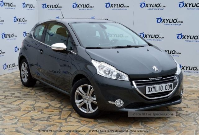 2012 peugeot 208 3 portes 1 4 hdi bvm5 68 cv allure gps car photo and specs. Black Bedroom Furniture Sets. Home Design Ideas