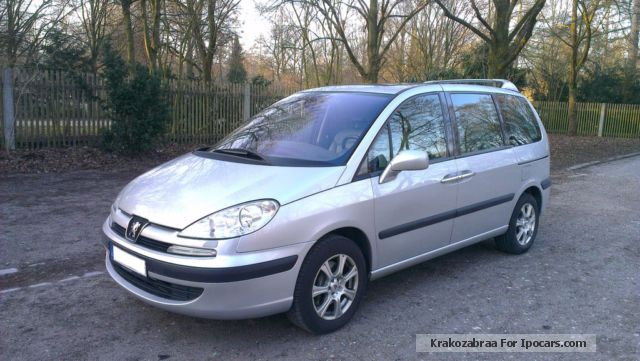 Peugeot  807 Gas plant 3.0 V6 Platinum Navigation 2003 Liquefied Petroleum Gas Cars (LPG, GPL, propane) photo