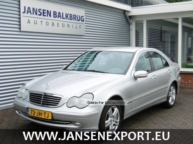 2002 Mercedes-Benz  C 180 180 Avantgarde / Cruise / Trekhaak Saloon Used vehicle photo
