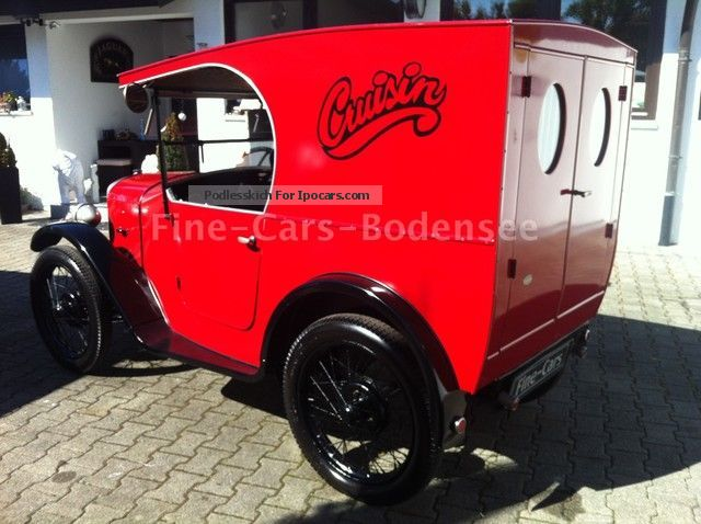 Austin  7-VAN-RESTORED H-APPROVAL U.VOLL THE OPERATION 1929 Vintage, Classic and Old Cars photo