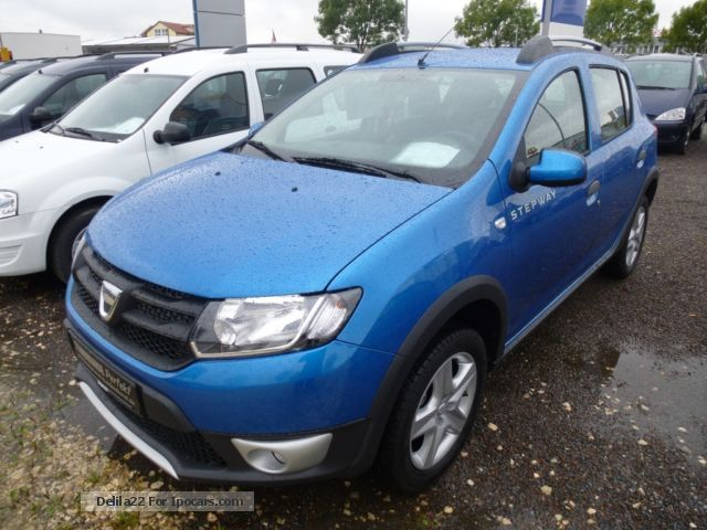 2014 dacia sandero stepway tce 90 ambiance incl m s. Black Bedroom Furniture Sets. Home Design Ideas