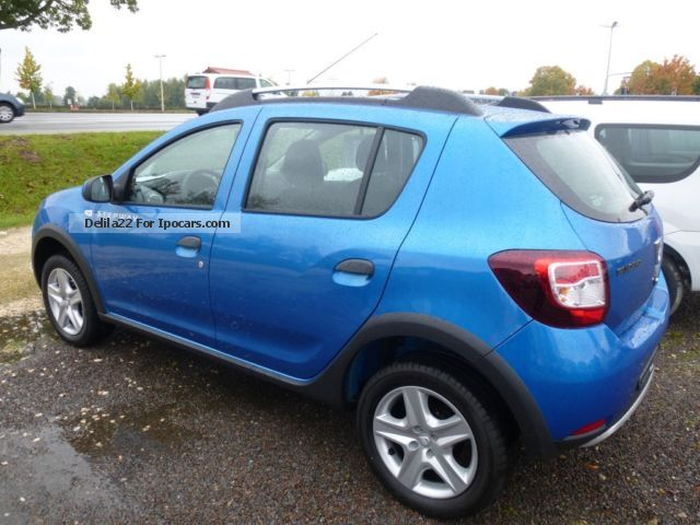 2014 dacia sandero stepway tce 90 ambiance incl m s car photo and specs. Black Bedroom Furniture Sets. Home Design Ideas