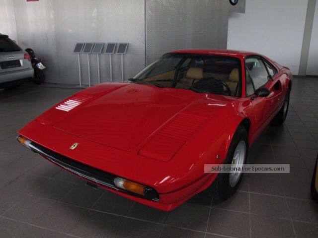 Ferrari  308 GTB * orig. 38.8 thousand kilometers * Swiss * delivery 1979 Vintage, Classic and Old Cars photo