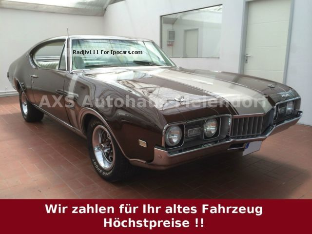 Oldsmobile  Cutlass Supreme 5.7 V8 * Restored * H-approval 1968 Vintage, Classic and Old Cars photo