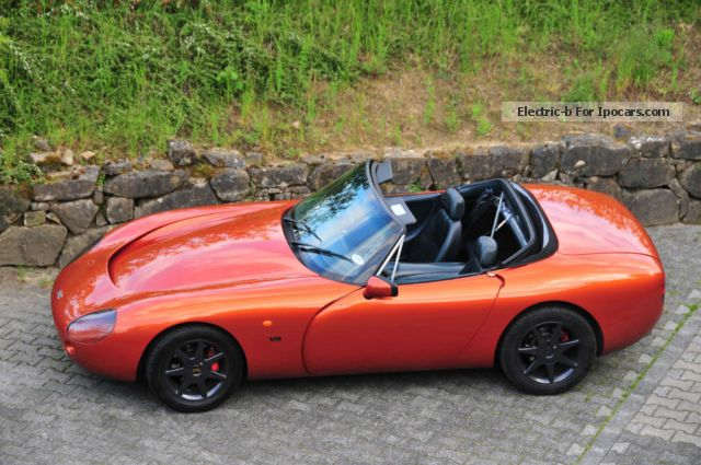 2012 tvr griffith 500hc v8 in apache orange car photo and specs. Black Bedroom Furniture Sets. Home Design Ideas