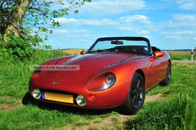 2012 tvr griffith 500hc v8 in apache orange car photo and specs. Black Bedroom Furniture Sets. Home Design Ideas