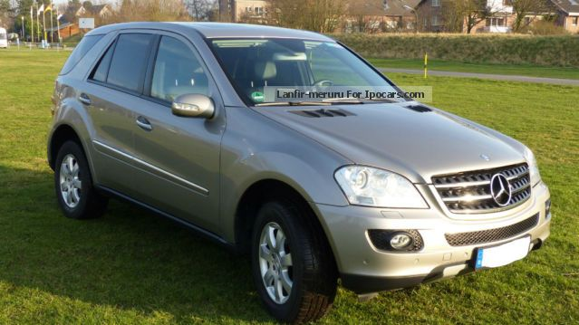 2006 mercedes benz ml 320 cdi dpf 4matic xenon leather command ahk car photo and specs. Black Bedroom Furniture Sets. Home Design Ideas