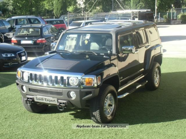 Hummer  H3 3.5 SUV IMPIANTO GPL TETTO PEDANE! 2005 Liquefied Petroleum Gas Cars (LPG, GPL, propane) photo