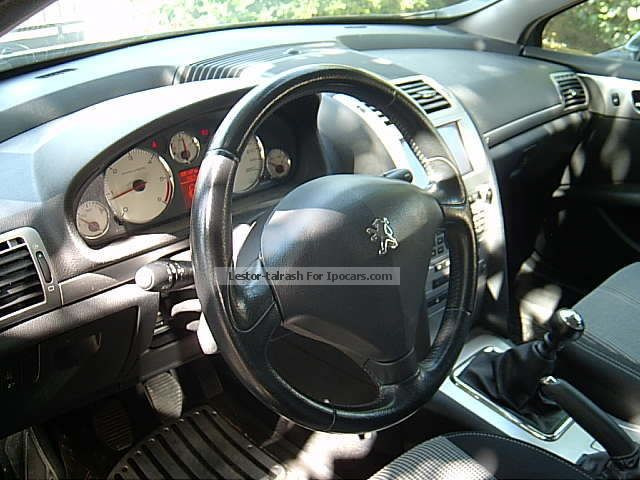 2008 peugeot 407 2 0 hdi 16v fap 136ch naveteq on board car photo and specs. Black Bedroom Furniture Sets. Home Design Ideas