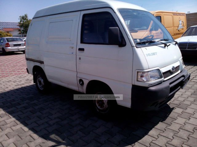 2003 Piaggio  Porter S 85 Box 2 x sliding door 48.500km Van / Minibus Used vehicle photo