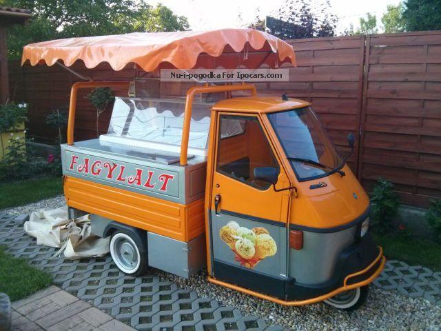 1990 Piaggio  APE ice cream truck Other Used vehicle(  Accident-free) photo