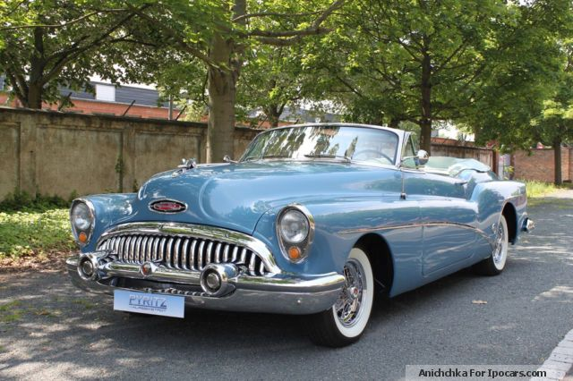 Buick  70 Skylark series 1953 Vintage, Classic and Old Cars photo