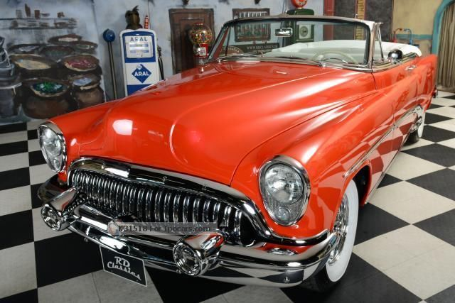 Buick  Special Convertible 1953 Vintage, Classic and Old Cars photo