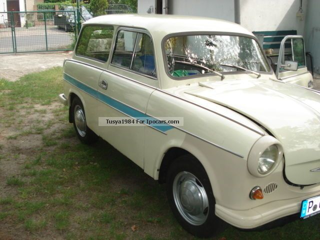 Trabant  TRABANT P60 COMBO GOOD CONDITION WITH H-KZ 1965 Vintage, Classic and Old Cars photo