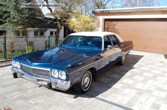 2012 Plymouth  Fury III Saloon Classic Vehicle(  Accident-free) photo