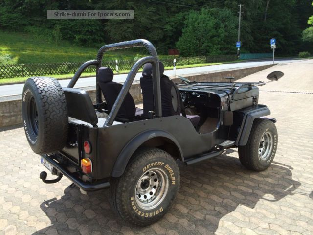 1988 Mahindra CJ 540 - Car Photo and Specs
