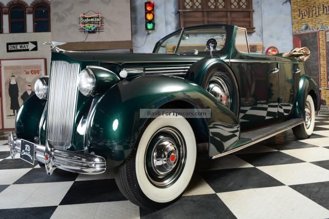 Other  Other Packard 1601 Convertible / collector Stuck! 1938 Vintage, Classic and Old Cars photo