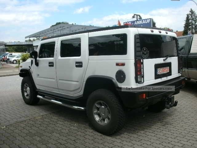 Hummer  Modified H2 model 2007 2006 Liquefied Petroleum Gas Cars (LPG, GPL, propane) photo