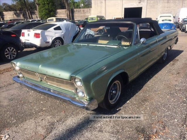 1966 Plymouth  Fury Full Size Convertible super rare! Cabriolet / Roadster Used vehicle(  Accident-free) photo