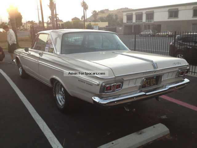 Plymouth  Sport Fury matching numbers 1964 Vintage, Classic and Old Cars photo