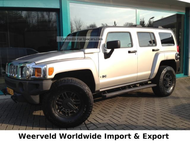 Hummer  H3 3.5 LPG GAS AUTO, LEATHER, ROOF, AHK, VERY CLEAN 2005 Liquefied Petroleum Gas Cars (LPG, GPL, propane) photo