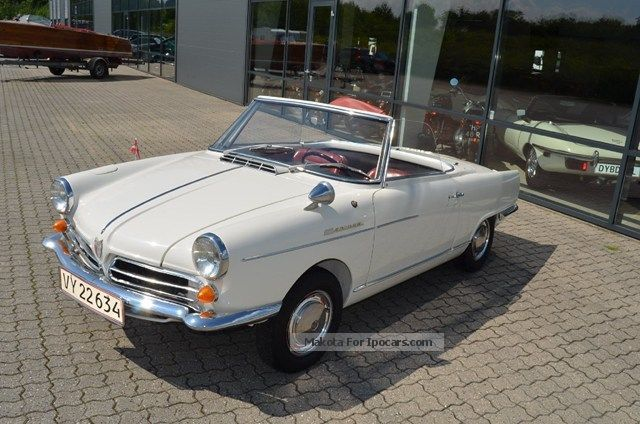 NSU  Wankel Spider 0.5 Convertible 1965 Vintage, Classic and Old Cars photo