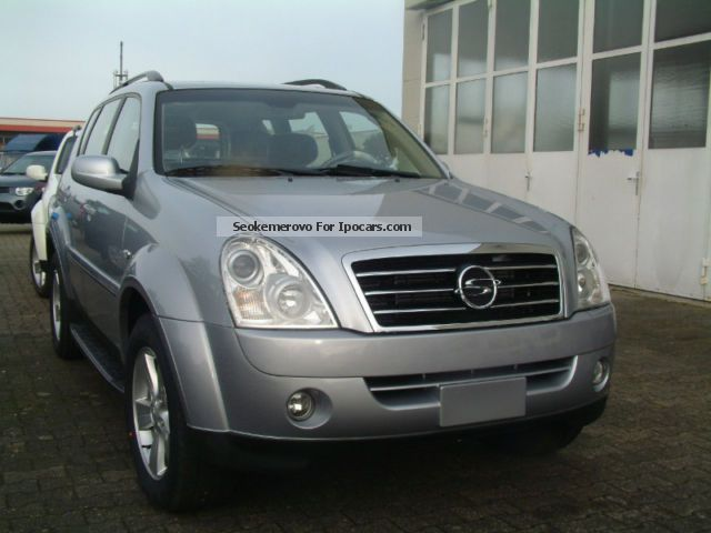 2009 ssangyong rexton rx 270 xdi dpf autom leather sd 7. Black Bedroom Furniture Sets. Home Design Ideas