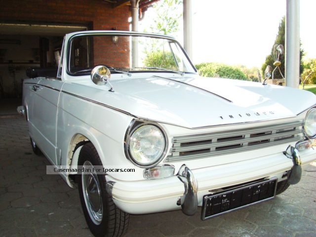 1970 Triumph  Herald 13/60 Cabriolet / Roadster Classic Vehicle photo