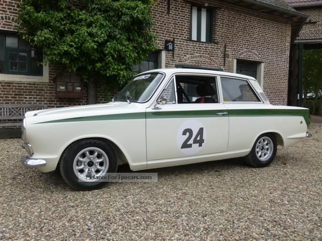 Lotus  Lotus Cortina 1965 Vintage, Classic and Old Cars photo