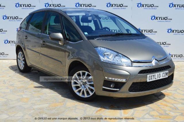 2012 citroen c4 picasso 1 6 hdi 110 millenium gps radar car photo and specs. Black Bedroom Furniture Sets. Home Design Ideas