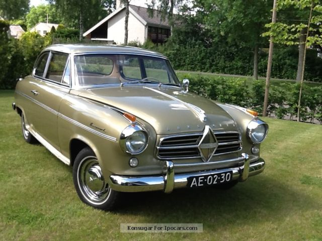 Borgward  Isabella TS DeLuxe 1958 Vintage, Classic and Old Cars photo