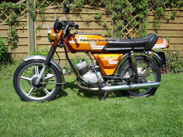 KTM  50 MS Mokick 1978 Vintage, Classic and Old Cars photo