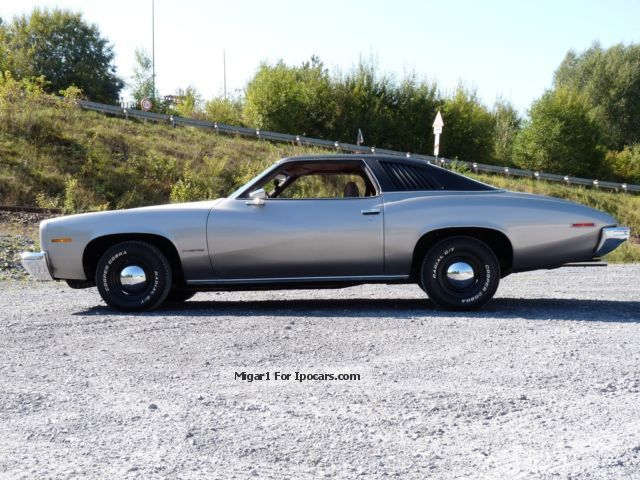 Pontiac  73 'LeMans 2-Door Sport Coupe 350cui, H-approval 1973 Vintage, Classic and Old Cars photo