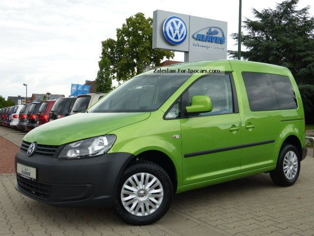 2013 Volkswagen  Caddy trend. 1.6 TDI DPF Sitzhzg. PDC GJR Estate Car Used vehicle photo