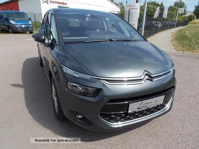 2014 citroen citro n c4 picasso e hdi 115 fap intensive car photo and specs. Black Bedroom Furniture Sets. Home Design Ideas