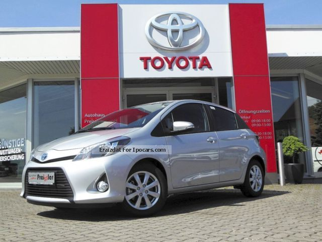 Toyota  Yaris Hybrid 1.5 VVT-i EDITION climate control, e 2014 Hybrid Cars photo