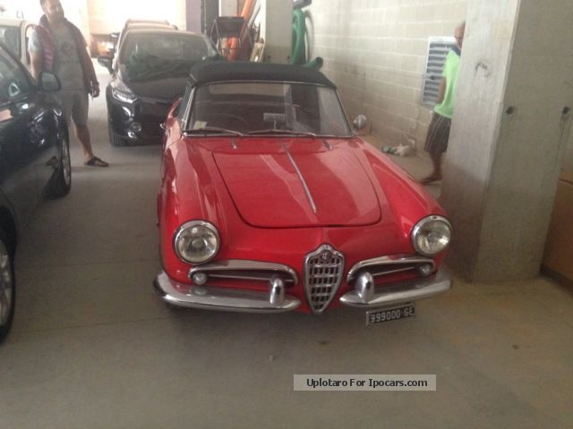 Alfa Romeo  spider 1960 Vintage, Classic and Old Cars photo
