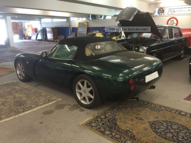 2002 tvr griffith 500 se last edition 84 100 car photo and specs. Black Bedroom Furniture Sets. Home Design Ideas