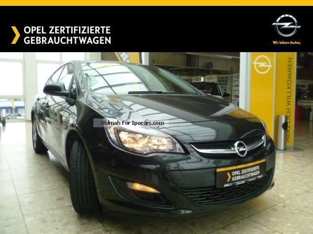 2013 Opel  Astra sedan 5-door Active with LM, Park Pilot, USB Saloon Employee's Car (  Accident-free ) photo