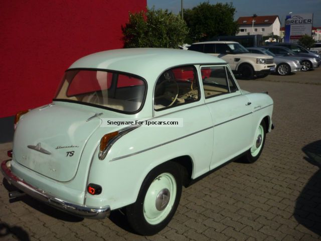 Borgward  ALEXANDER TS 1 HAND 1959 Vintage, Classic and Old Cars photo