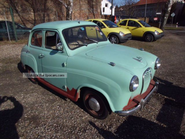 Austin  A30 Seven with history! good restoration base 1955 Vintage, Classic and Old Cars photo