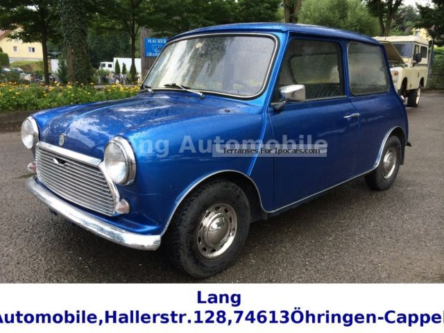 Austin  Mini 1000 Special de Luxe Bj.1970 TOP ......!! 1970 Vintage, Classic and Old Cars photo