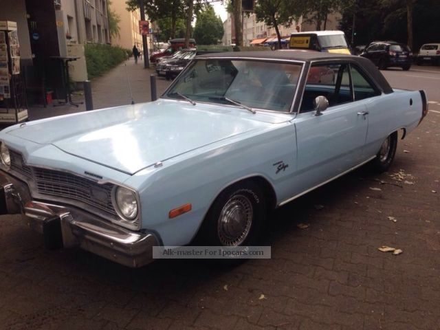 Dodge  DART SWINGER 2 HARDTOP DOORS 1973 Vintage, Classic and Old Cars photo