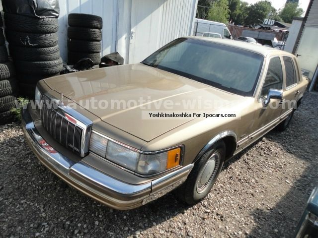 1991 Lincoln  Town Car German papers + DEKRA + tip top shape! Saloon Used vehicle photo