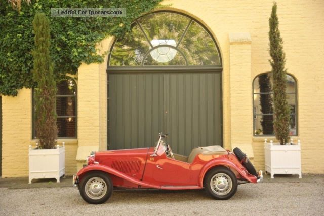 MG  TD completely Call restored 1952 Vintage, Classic and Old Cars photo