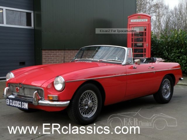MG  B Cabriolet 1965 overdrive memory Rader 1965 Vintage, Classic and Old Cars photo